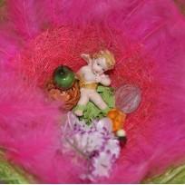 Амур в перьях (Pink)