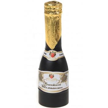 """Хлопушка пружинная Шампанское """"Российское шампанское"""" серпантин фольга 16 см"""